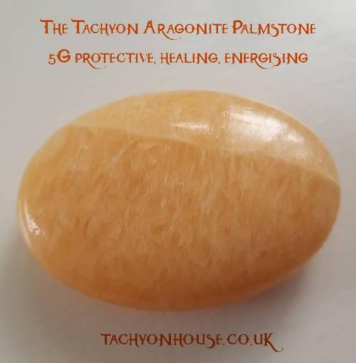 Tachyon Aragonite Palmstone - Bild vergrößern