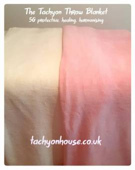 Tachyon Throw Blanket, heavenly magical softness
