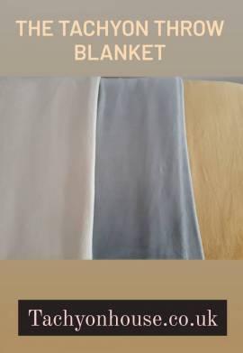 Tachyon Throw Blanket, heavenly magical softness